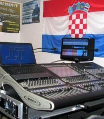 DiGiCo SD8 mikser napokon u Hrvatskoj