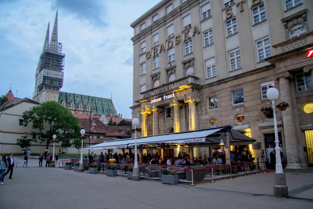 Johann Franck – Zagreb